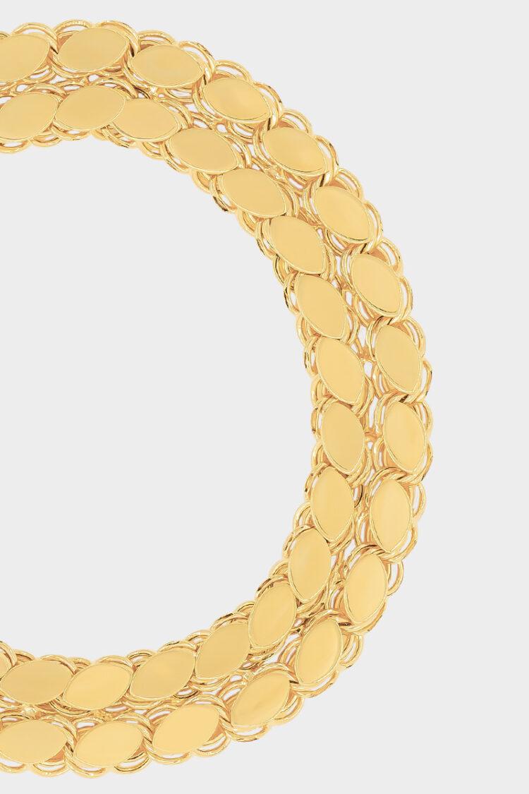 Sarı Altın Pul Bileklik