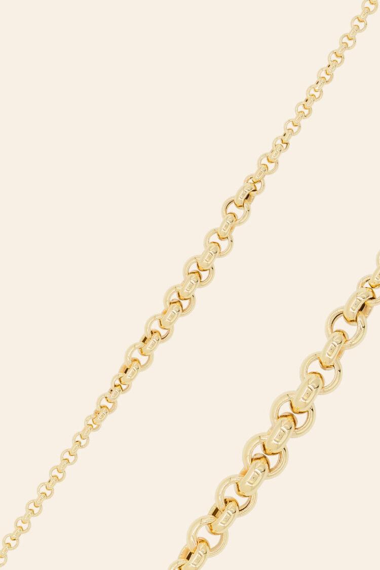 Sarı Altın Zincir Bileklik – 00951753