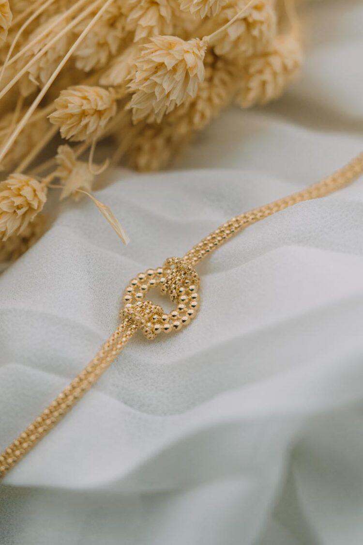 Sarı Altın Zarif Bileklik – 21ARP184